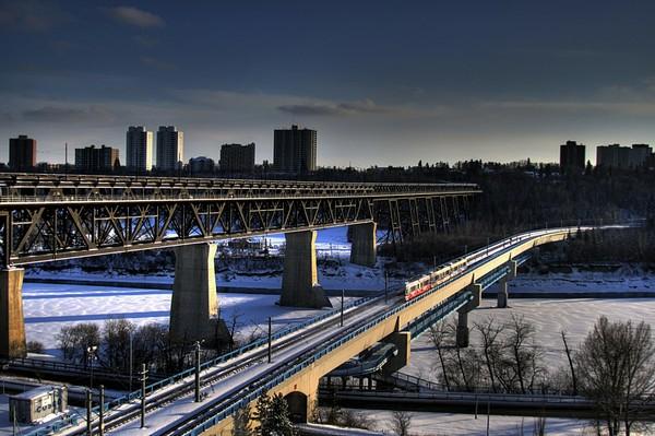 Railway Bridge, Edmonton