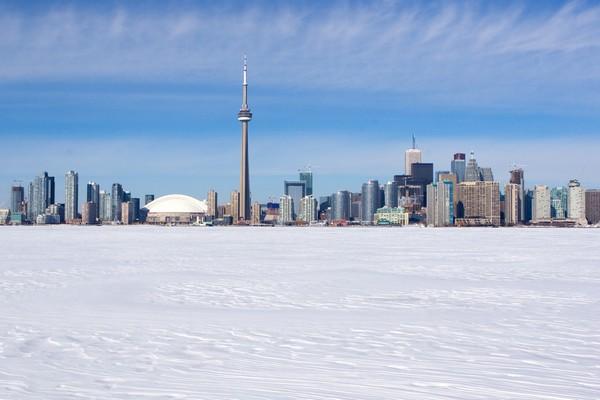 Winter skyline, Toronto - © Stephanie F Clark/shutterstock
