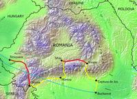 Tour route map