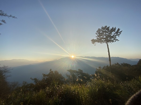 Sunrise over Jade Mountain Alishan - © Michelle Hawes