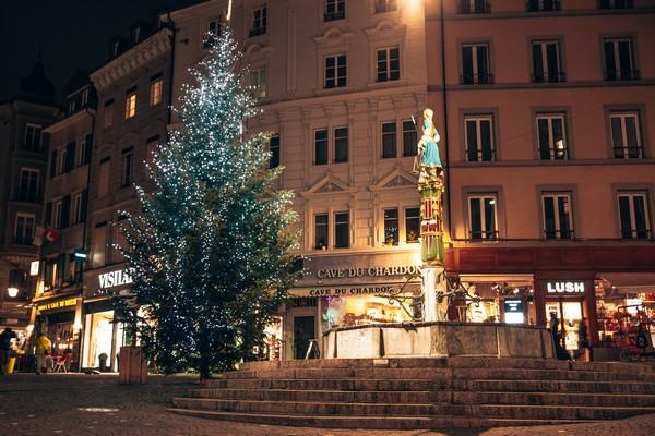 Lausanne Lumière - Marché de Noël BôNoël OTV - © Zoé Rey