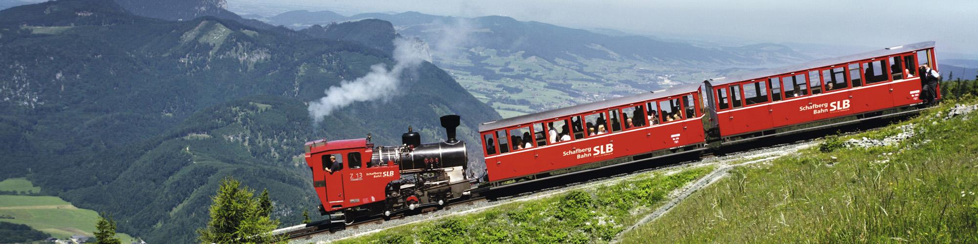 Schafbergbahn - © Salzburger Lokalbahnen