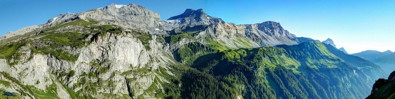 Swiss Alpine view